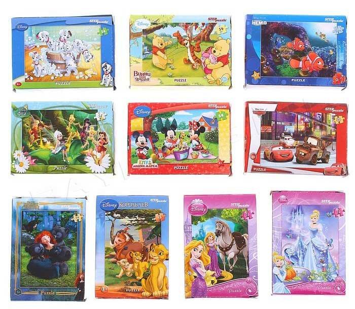 Пазлы: детские мультфильмы