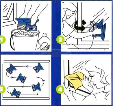 Магнитная щётка для мытья окон Window Wizard – это новейшее устройство в очищении оконных и дверных стёкол.Как она работает. Благодаря мощным неодимовым магнитам, щётки надёжно держатся друг с другом, даже через толстое стекло. Данная модель рассчитана на окна, толщина которых 28 мм.
