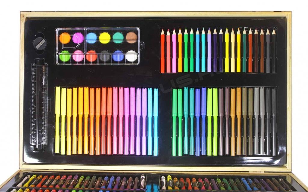 фломастеры, карандаши и краски